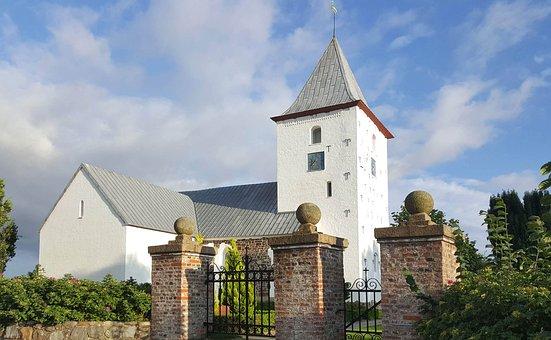 Ansager, Church, Church Tower, Medieval Church