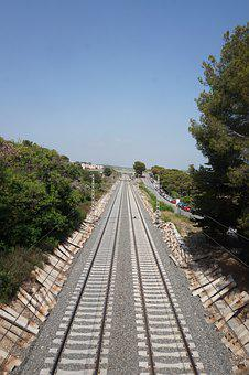 Rails, Railway Line, Railroad Tracks, Rail Traffic