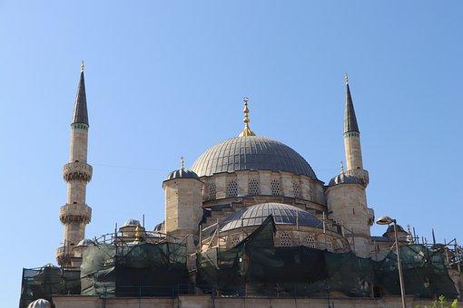Cami, Islam, Minaret, Construction, Renovations