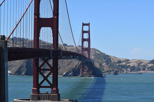 Bridge, Golden Gate, San Francisco, California, America