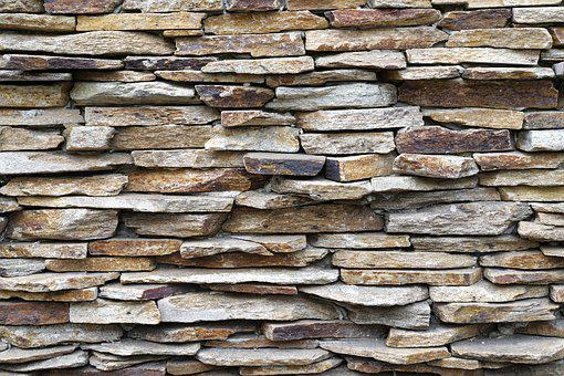 Section, Wall, Stones, Texture, Irregular, Facade
