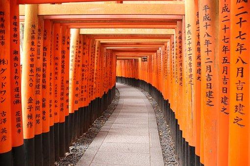 Fushimi Inari, Kyoto, Japan, Shrine, Temple
