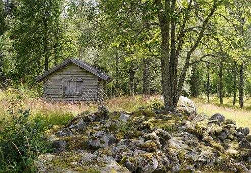 Sweden, Hut, Scandinavia, Building, Open-air Museum