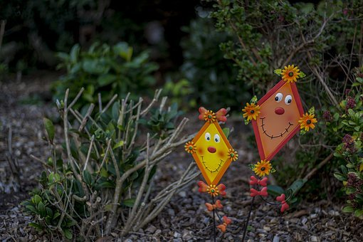 Dragons, Garden, Flying, Environment, Autumn