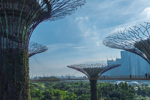 Singapore, Breakthrough, Park, Asia, Structure