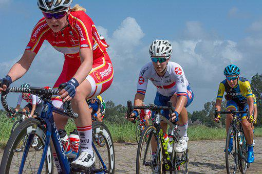 Cycling, Wielerronde, Contest, Sports, Bicycle, Women