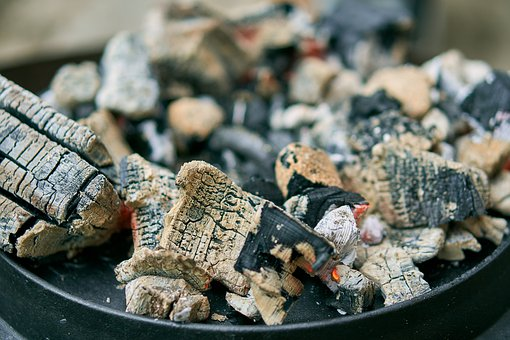 Dutch Oven, Fire Pot, Cook, Cast Iron, Charcoal, Embers