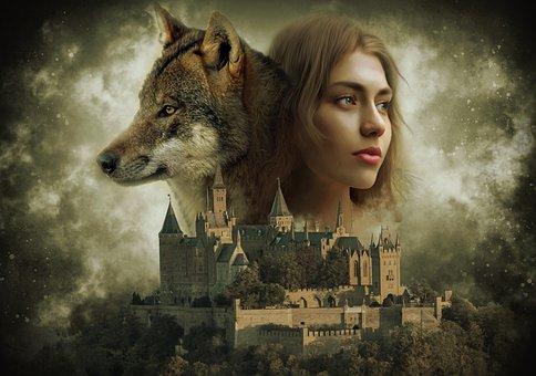 Fantasy, Gothic, Dark, Dream, Surreal, Ethereal, Woman