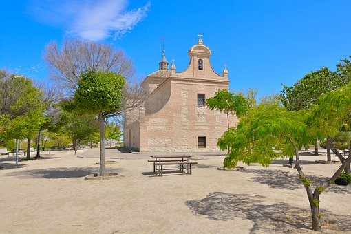 Hermitage, Landscapes, Church, Tourism, Spain, Toledo
