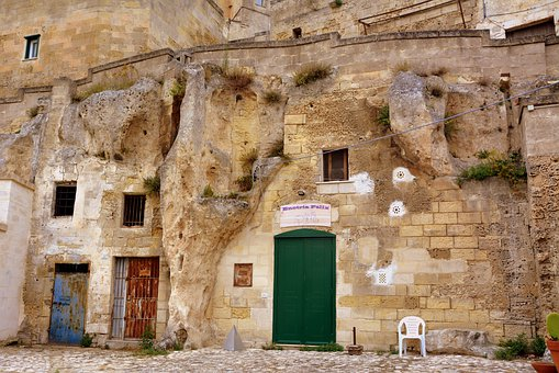 Sassi, Matera, House, Old, Ancient, Italy, Cave
