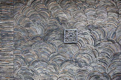 Republic Of Korea, Korea, Traditional, Seoul, Roof Tile