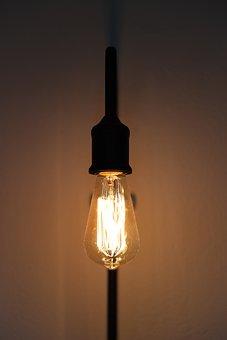 Retro, Light, Vintage, Lamp, Lighting, Energy, Current