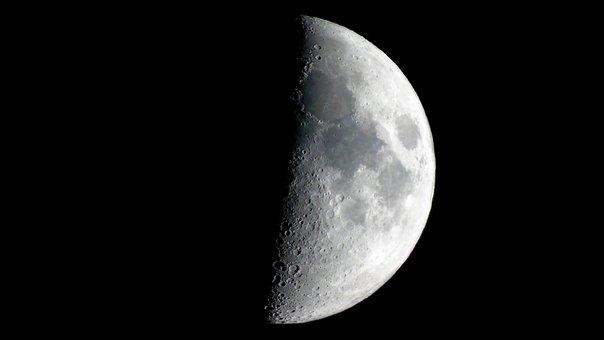 Moon, Lunar, Space, Moonlight, Astronomy, Astrology