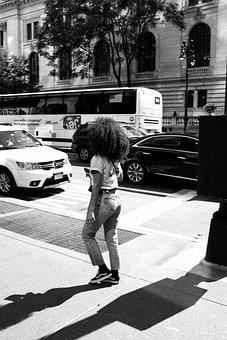 Streetlife, Urban, New York, Manhattan, Afro