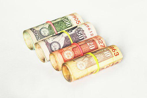 Rupee, Indian, India, Money, Bank Note, Bill, Business