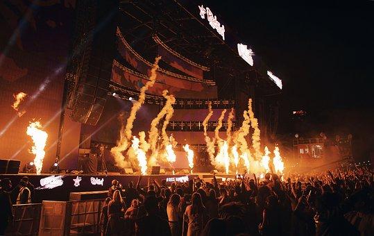 Concert, Colour, Music, Colorful, Musician, Party