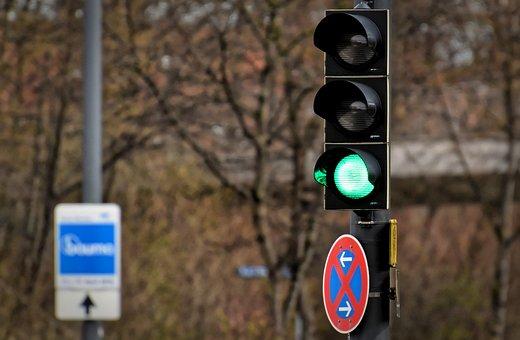 Traffic Lights, Green, Road, Light Signal