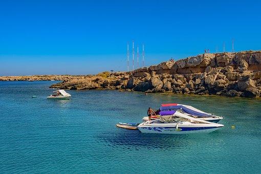 Blue Lagoon, Cavo Greko, Cyprus, Blue, Tourism, Sea