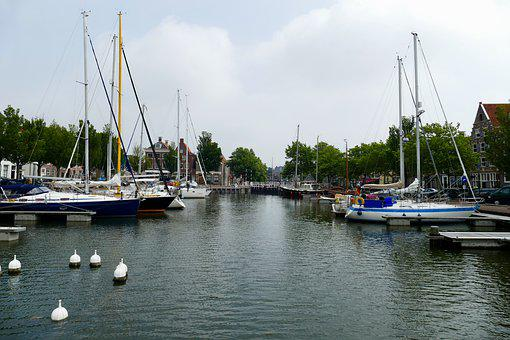 Port, Harlingen, Bathrooms, Ship, Ships, Sailboats