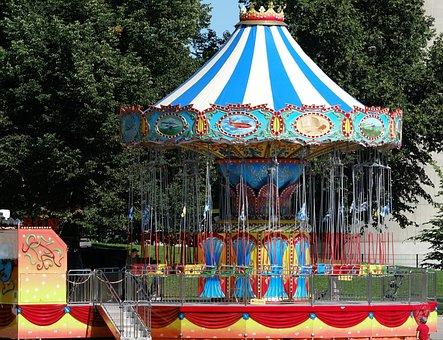 Carousel, Chain Carousel, Year Market, Sommerfest
