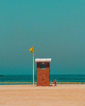 Beach, Dubai, Tourism, Landscape, Holiday, Sunset