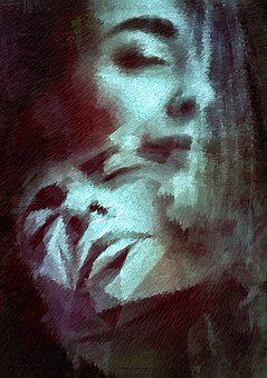 Book Cover, Portrait, Surreal, Face, Fantastic, Dream