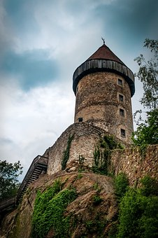 Defensive Tower, Castle, Tower, Middle Ages, Watchtower