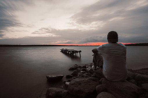 Loneliness, Mystery, Man, A Person, The Emotion