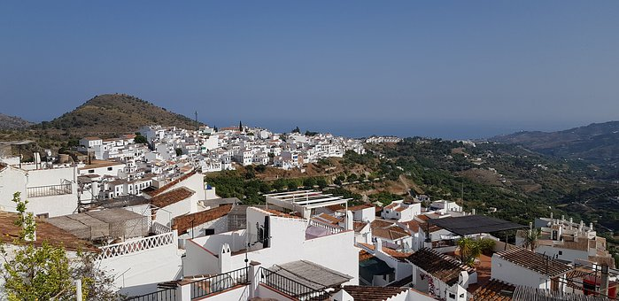 Peoples, Andalusia, Landscape, Street, White