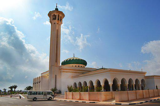 Muslim, Mosque, Agra, Ancient, Arab, Architecture
