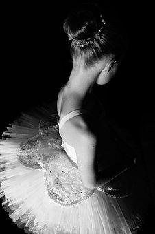 Monochrome, Ballerina, Dancer, Skill, Ballet, Dancing