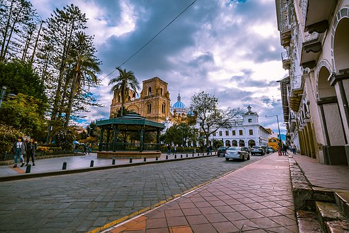 Cathedral Of Cuenca, Architecture, City, America