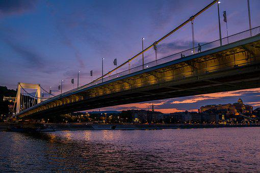Budapest, Bridge, Danube, City, Hungary, River