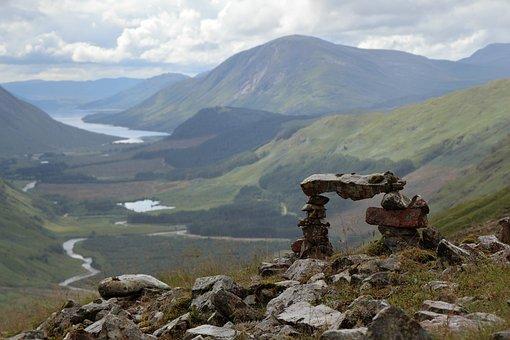 Scotland, Natural, Landscape, Mountains, Highlands