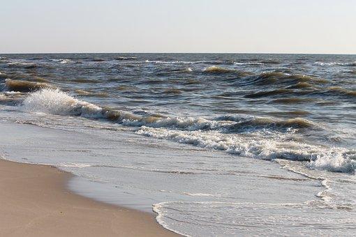 Beach, Sea, Sand, Sand Beach, North Sea, Holland, Water