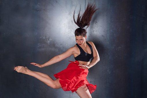 Dance, Choreographer, Jazz, Ballet, Jump, Elegant