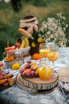 Picnic, Food, Juice, Nutrition, Background, Kitchen