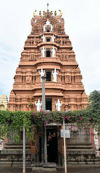 Dodda Mallur, Karanataka, Hindu, Temple, Tower, Gopuram