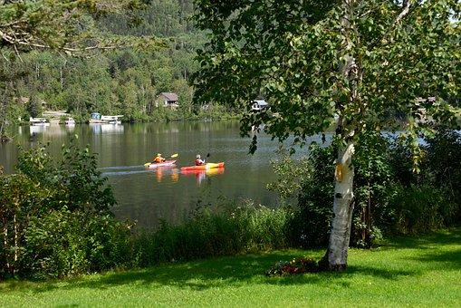 Kayak, Nature, Water, Lake, Hobbies, Summer, Travel