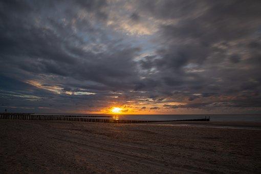 Sun, Sunset, Sky, Landscape, Mood, Dusk, Clouds
