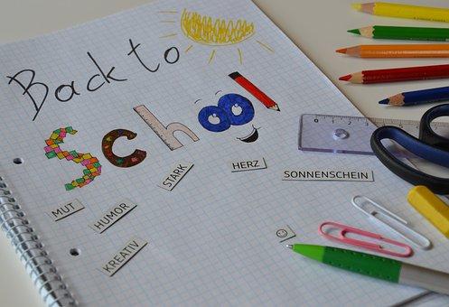 School, Back-to-school, School Starts, Pen, Mood, Learn
