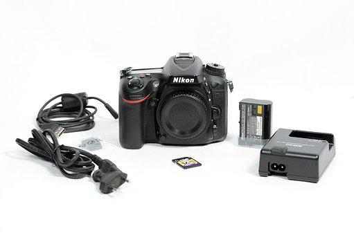 Nikon, Dslr, Camera, Photography, Technology, Lens