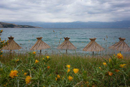 Sea, Parasol, Holidays, Relaxation, Water, Beach