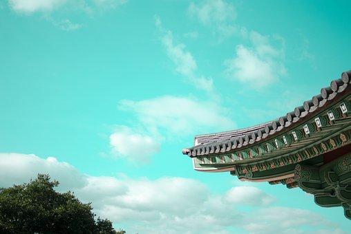 Republic Of Korea, Hanok, Traditional, Construction