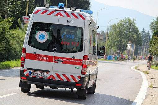 Ambulance, Rescue Service, Help, The Doctor, Path