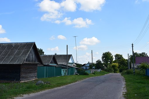 Russia, Village, Beauty, Nature, Summer, Road, At Home