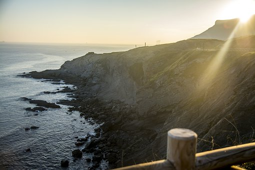 Sunrise, Ocean, Sea, The Coast, Holiday, The Sun