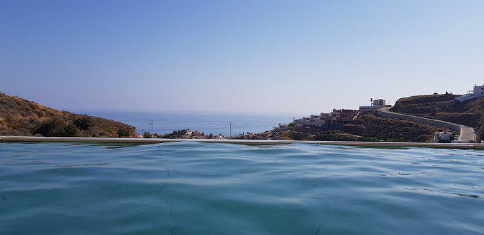 Pool, Landscape, Nature, Summer, Sky, Water, Holiday