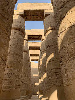 Old, Monumental, Scale, Architecture, Tourism, Egypt
