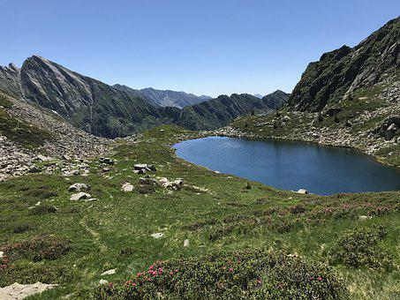 Via Alta Vallemaggia, Step Of The Two Lakes